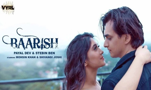 Baarish Song Out Now: Shivangi Joshi and Mohsin Khan chemistry is magical in this romantci rain song