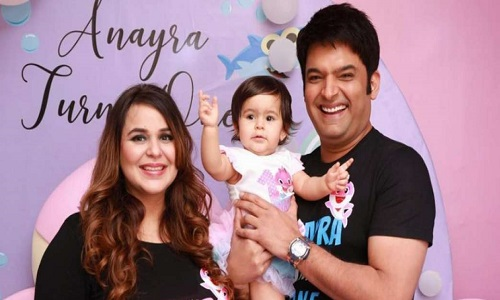 Kapil Sharma and Ginni Chatrath become parents of a baby boy